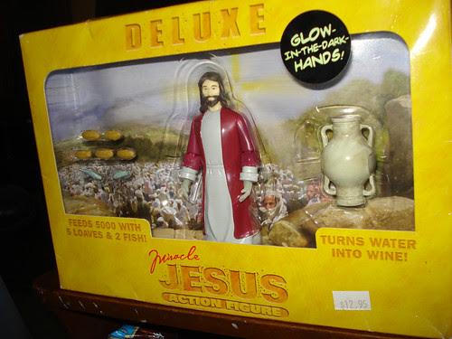 Glowing Jesus!