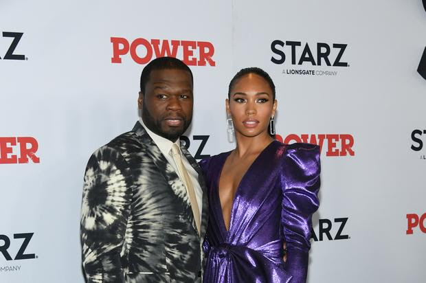 Image result for images of 50 Cent's new stunning 'girlfriend' Jamira Haines