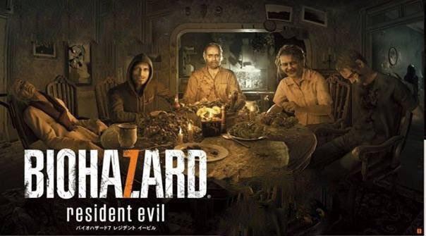 Resident Evil 7: Meet The Family In An Extended Dinner Photo, Plus ...