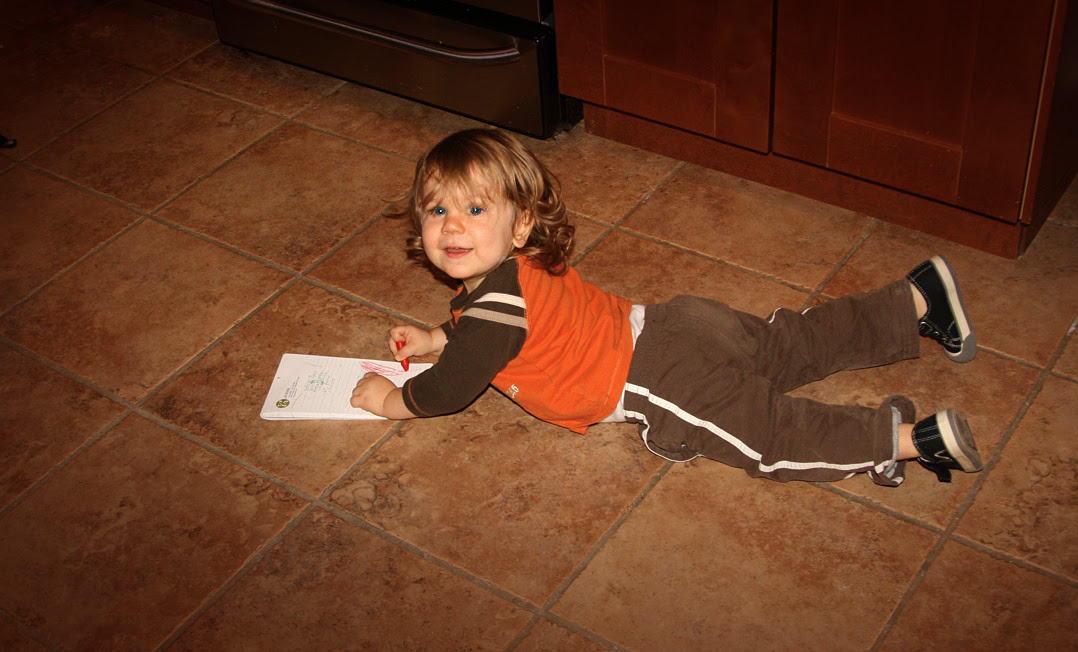 oliver coloring floor
