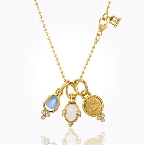 Temple St. Clair 18k Yellow Gold Classic Angel, Amulet