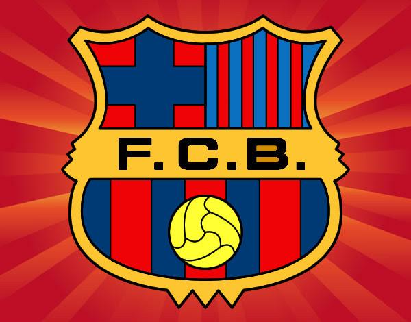 Disegno Stemma Barcellona Colorato Da Stefano Il 05 Di Aprile Del 2012
