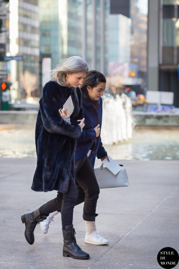 Sarah Harris Street Style Street Fashion Streetsnaps by STYLEDUMONDE Street Style Fashion Blog