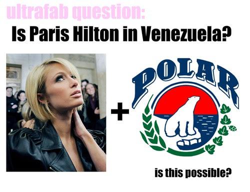 Paris Hilton and Polar