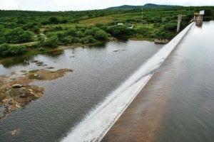 Choveu 22mm na barragem Pedro Moura