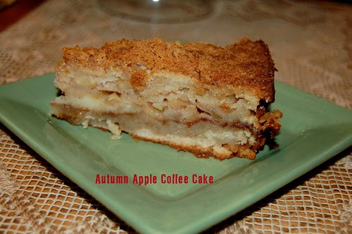 Autumn Apple Coffee Cake