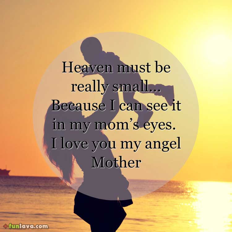 Heart Touching I Love You Mom Quotes