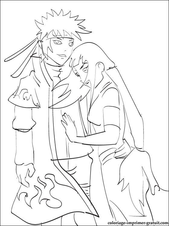 133 Dessins De Coloriage Naruto à Imprimer Sur Laguerchecom Page 1