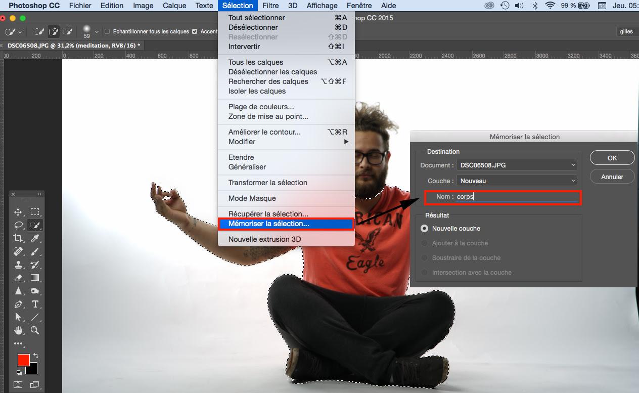 Tutoriel Photoshop Cc Sélection Rapide Détourage