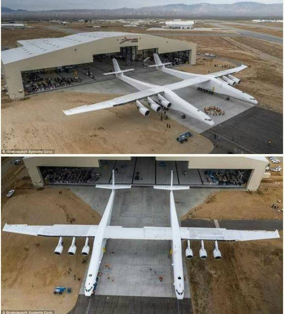 Microsoft Unveils World's Largest Plane With Two Cockpits (Photos)