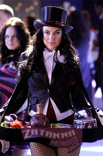 Serinda Swan as 'Zatanna' on SMALLVILLE