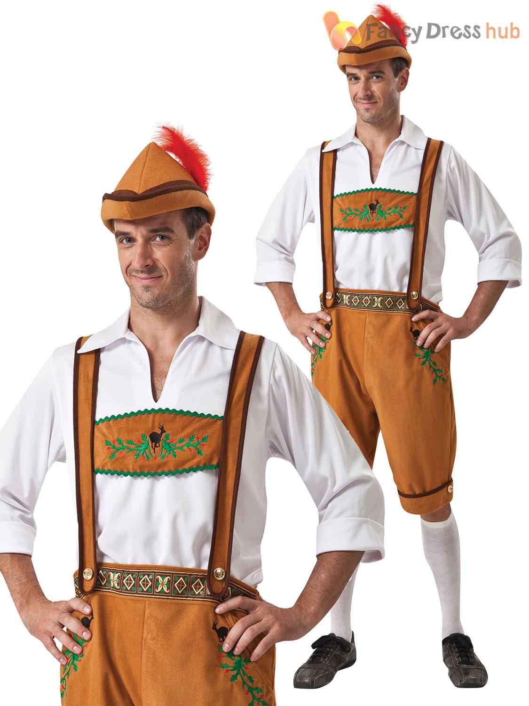 mens ladies oktoberfest bavarian fancy dress costume