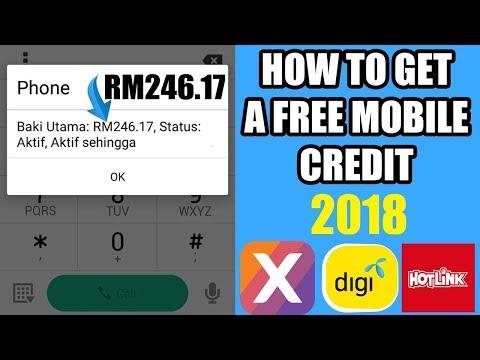Cara Dapat Kredit Free Celcom/Maxis/Digi 2018 (Step By Step Bergambar) Cepat Sebelum Tamat Tempoh