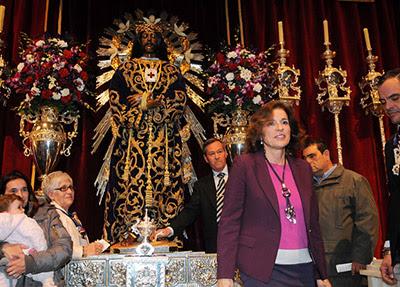 Botella en la Basílica de Jesús de Medinaceli en una imagen de archivo.- AYUNTAMIENTO DE MADRID