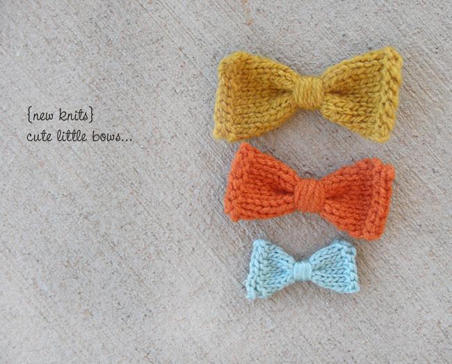 cute little bows