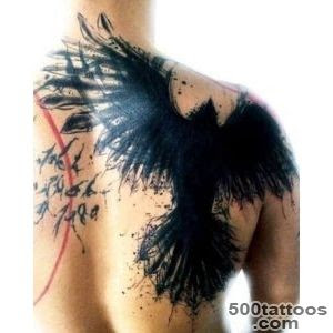 Crow Tattoo Designs Ideas Meanings Images