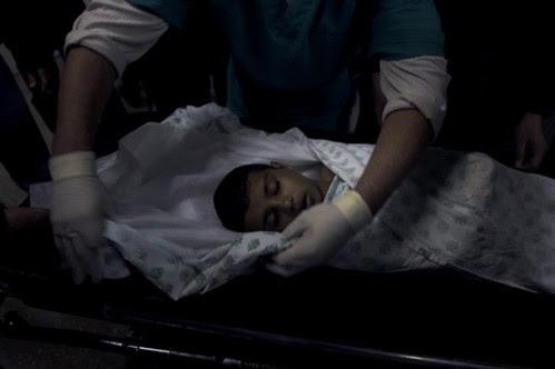 Gaza child by Cecilia....
