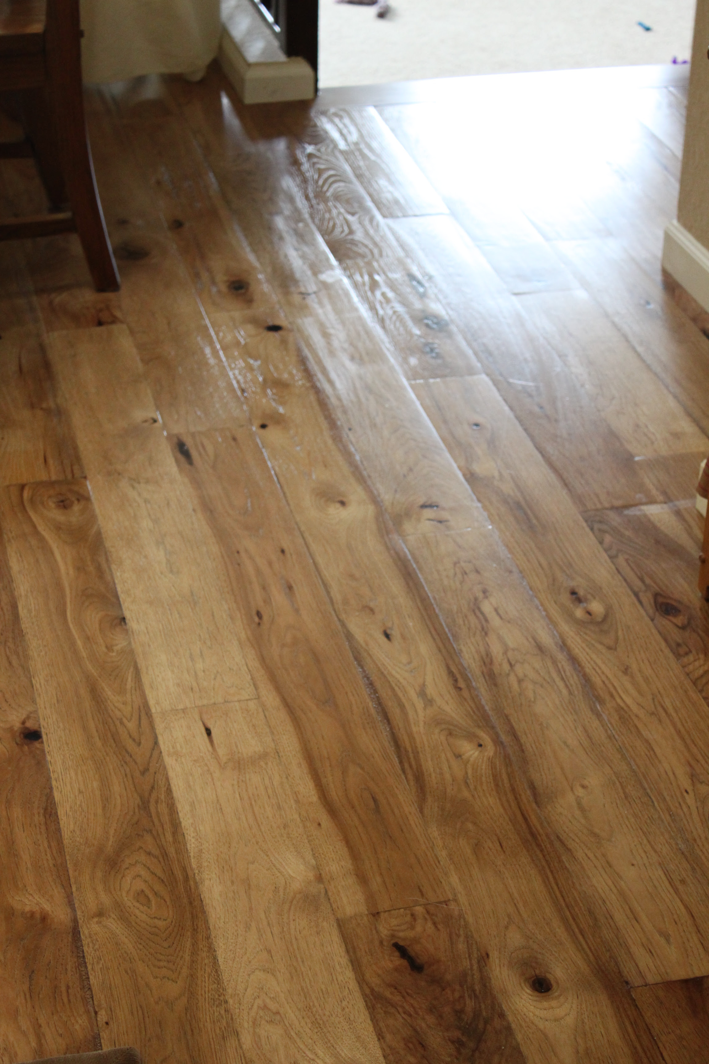 Engineered Rustic Hickory Flooring