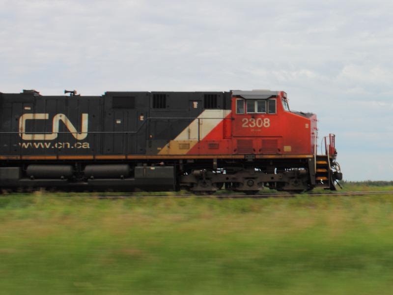 CN 2308 in Winnipeg