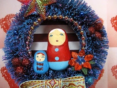 Matryoshka Wreath, Pollyanna's Fairytale! 3