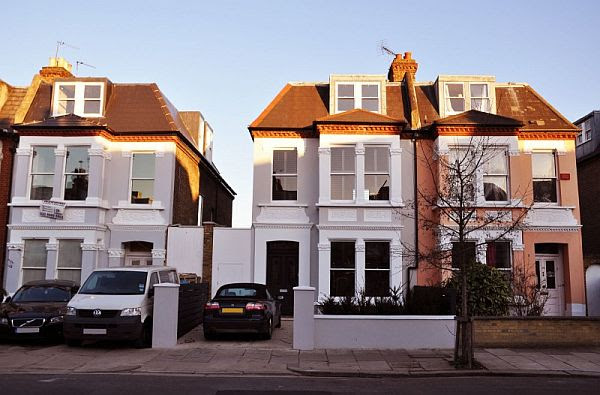 Extension to an Edwardian semi-detached house with a ...