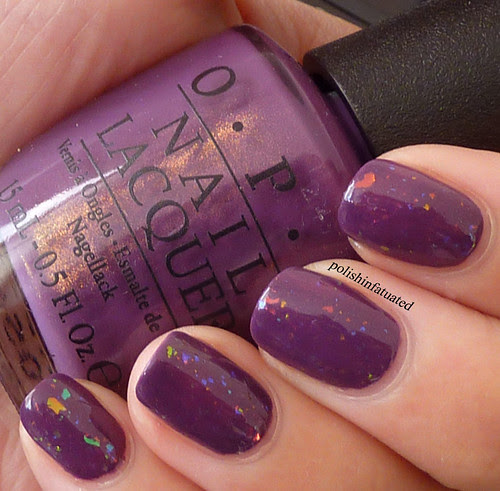 dutch ya just love opi layered with speck-tacular2