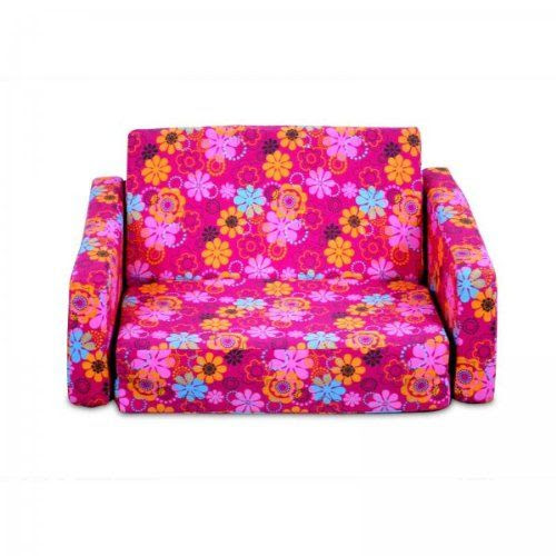 Save $9.64 on American Furniture Alliance Jr. Fx Tot Sofa, Flower Power; only $55.99