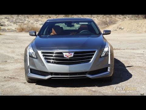 Cadillac CT6 test drive and video review