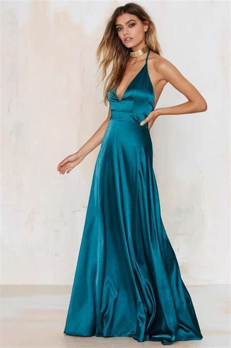 Twin Sister Grand Entrance Satin Maxi Dress   Dark Romance