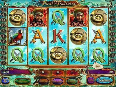 Игровые автоматы pirates treasures ставка
