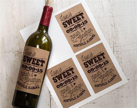 The Coolest Wedding Wine Label Designs   Weddingbells