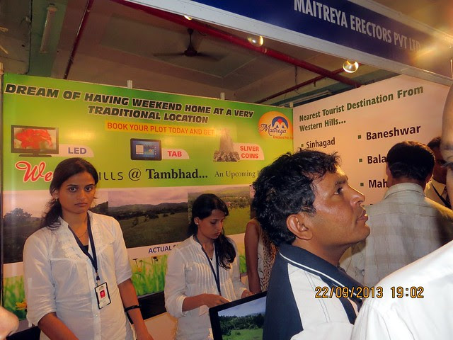 www.maitreyaerectors.com - Agrowon Green Home Expo 2013 Season 3 - Exhibition of Weekend Homes, 2nd Homes, Farm House Plots, N A Plots & Bungalow Plots  - 21st & 22nd September 2013
