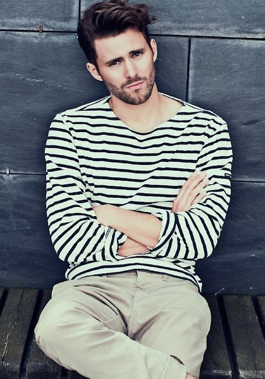 25 Stylish Hot Guys In Stripes -- Beard and Khakis -- Mens Style -- Via The Berry photo 25-Stylish-Hot-Guys-In-Stripes-Beard-Khakis-Mens-Style-Via-The-Berry.jpg
