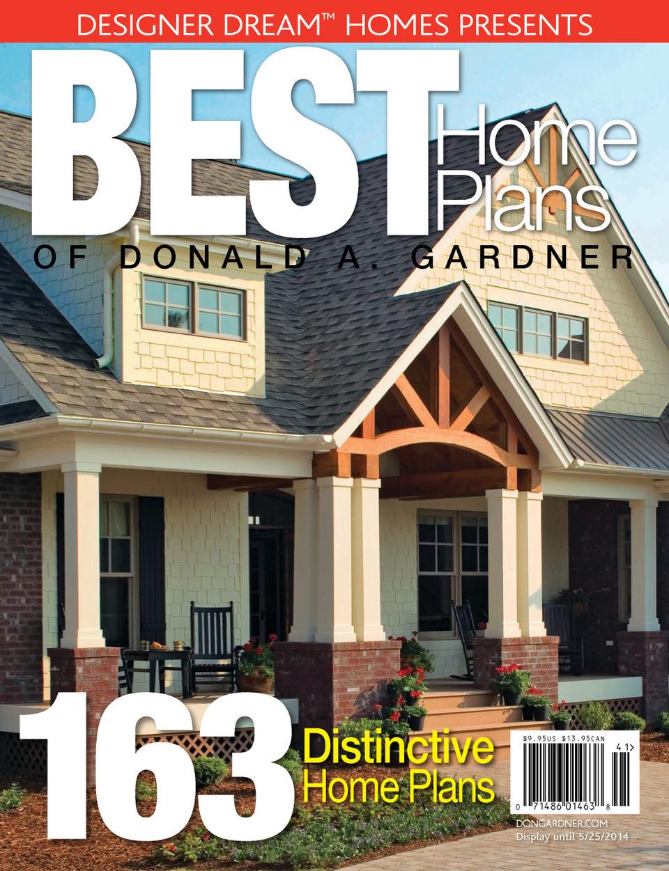 Designer Dream Homes Best Home Plans Of Donald A Gardner
