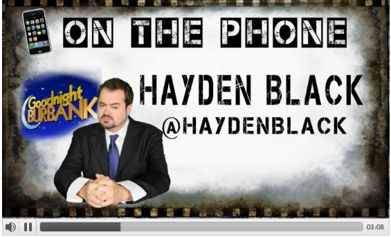 On The Phone: Hayden Black