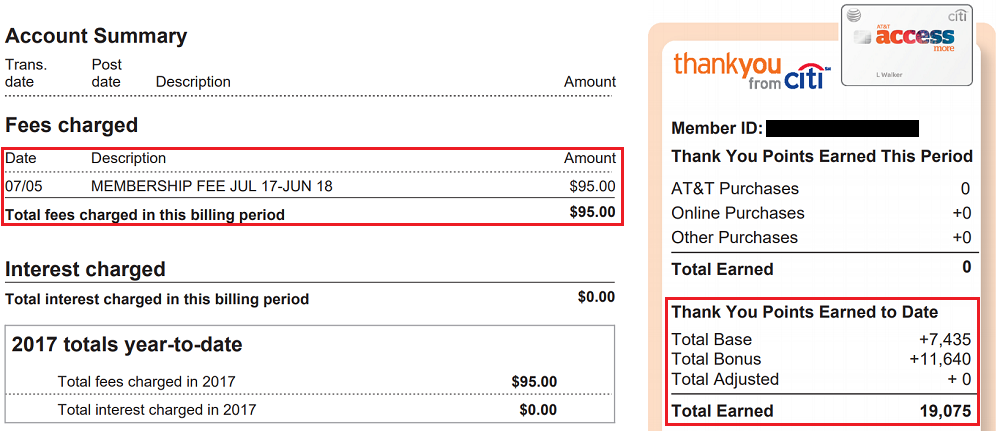 How to open citibank credit card statement pdf