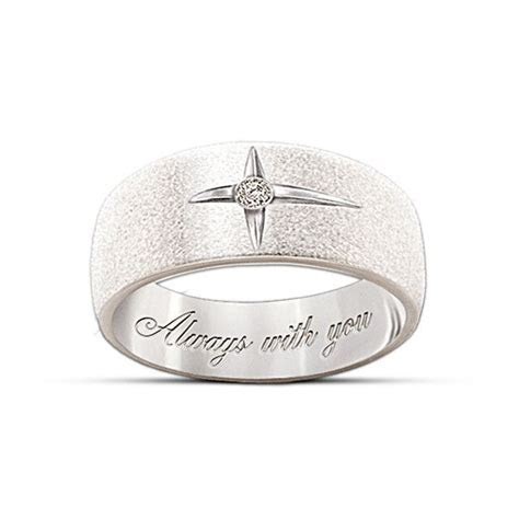 """Forever In Faith"" Diamond Men And Women's Ring   Jewelry"