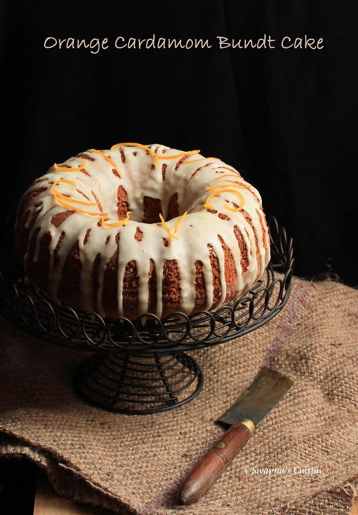 Cardamom Tea Cake