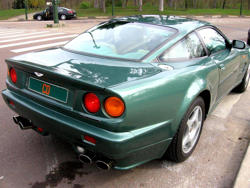 Aston Martin V8 Vantage Le Mans 600 Specifications Description Photos