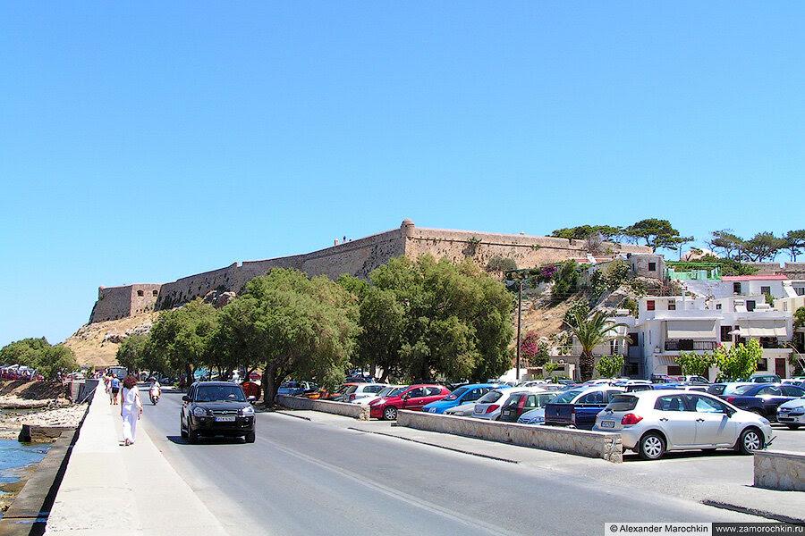 Крепость Фортецца с западной стороны