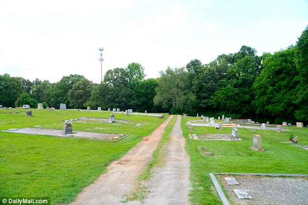 The intimate reception was held Saturday in Betty's hometown cemetery in Smyrna, Georgia, following the matriarch's death on February 19