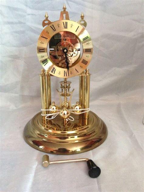 Vintage West German Elgin Sloan Anniversary Clock, One
