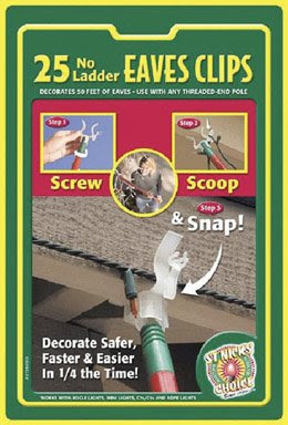 Christmas Light Company Indoor/Outdoor Eave Grip « Christmas ...
