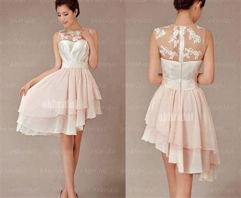 Lace Bridesmaid Dress, Champagne Bridesmaid Dress, Cheap
