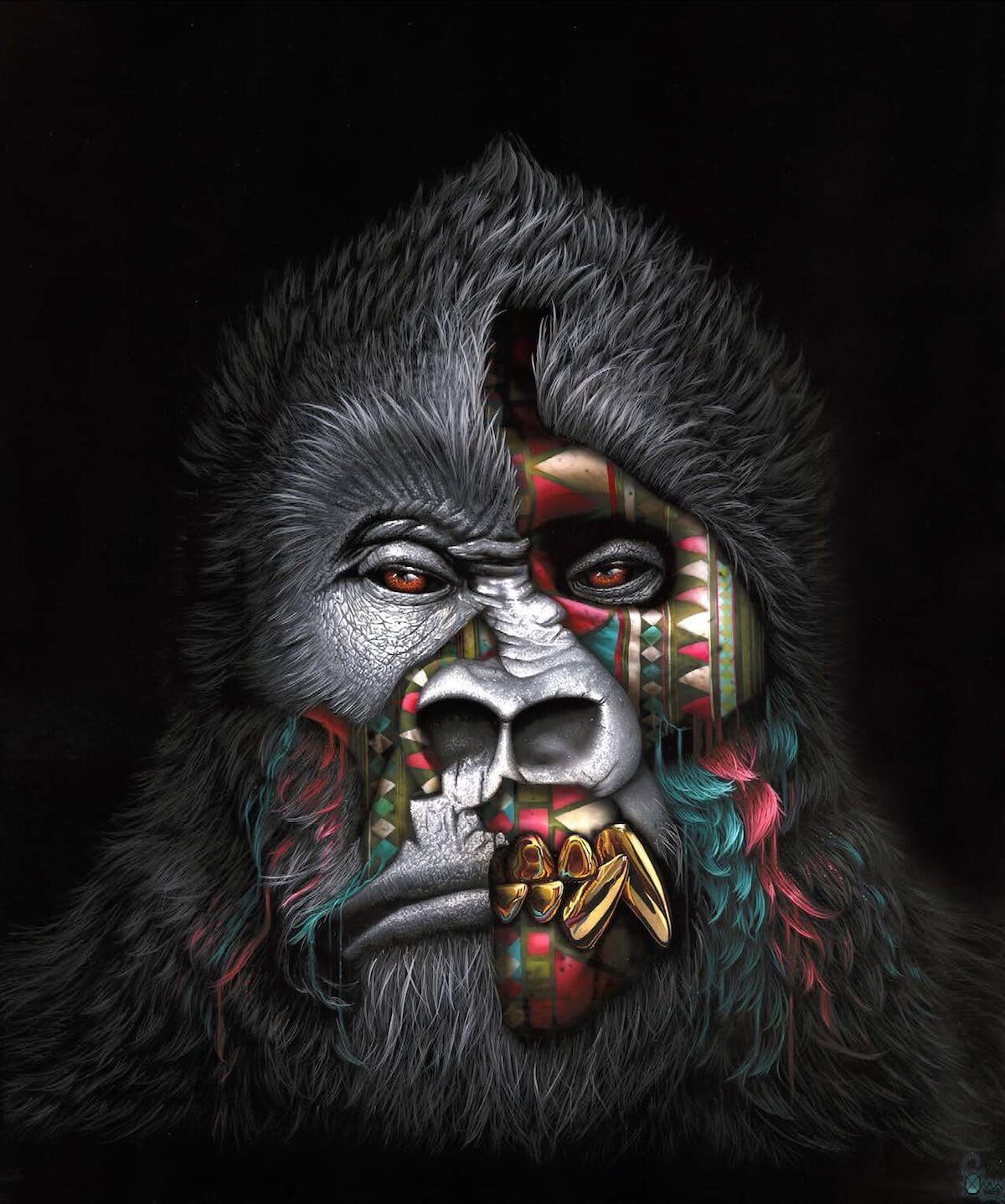 Sonny The Street Artist That Speaks of Animals, Endangered ...
