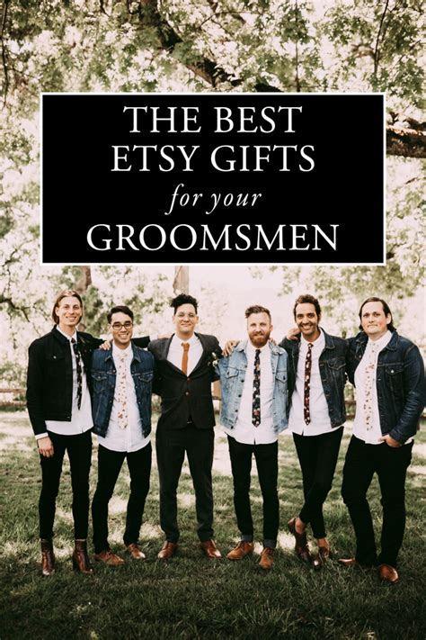 The Best Etsy Groomsmen Gifts   Junebug Weddings
