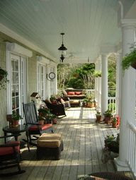 Decorating A Country Porch
