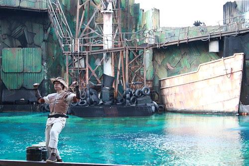 Waterworld at Universal Studio Japan