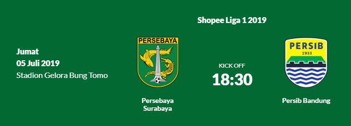 Jadwal Persebaya vs Persib