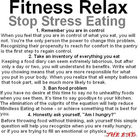 stop stress eating houssemg